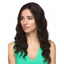 Attractive Remy Human Hair Lace Front Wig