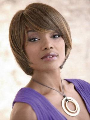 Luscious Bob Style Synthetic Capless Wig