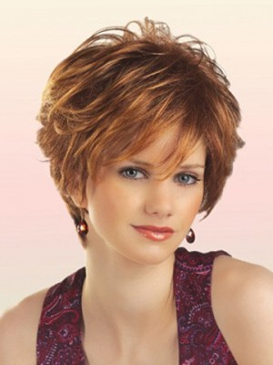Chic Synthetic Short Wavy Wig