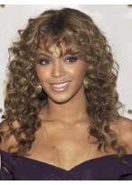 Wavy European Style African American Wig