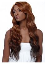 Long Wavy Human Hair Wig