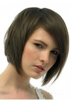 Silky Straight Lace Front Remy Human Hair Wig