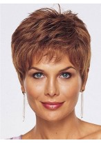 Lace Front Hand Tied With Mono Short Human Hair Wig