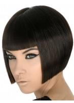 Human Hair Straight Capless Wig