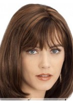 Fashionable Capless Remy Human Hair Wig