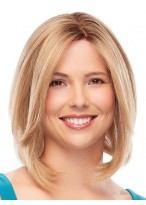 Straight Middle Part Synthetic Capless Wig