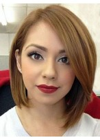 Good Looking Lace Front Synthetic Bob Wig
