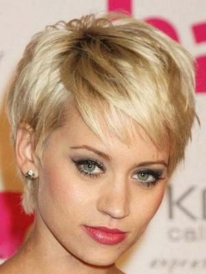 Noble Celebrity Short Straight Wig
