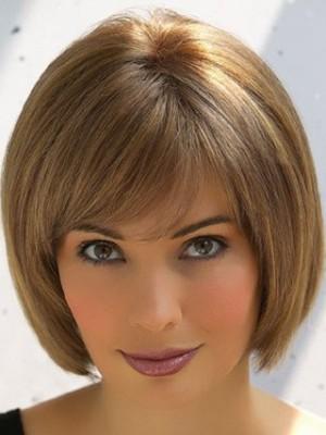 Bob Style Short Cut Remy Human Hair Wig