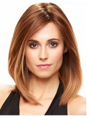 Long Bob Style Lace Front Remy Hair Wig