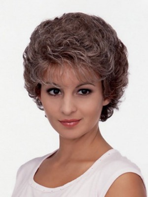 Excellent Astrid Short Curly Synthetic Wig