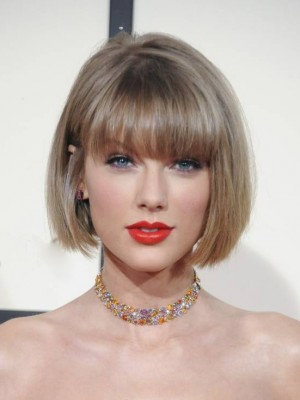 Taylor Swift Seductive Capless Human Hair Wig