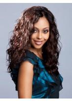 Wavy Long Human Hair Lace Front Wig