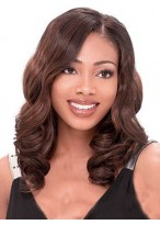 Lace Front Wavy Synthetic African American Wig