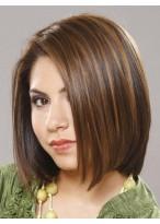 Fascinating Medium Straight Human Hair Wig