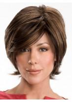 Elegant Short Wavy Real Hair Wig
