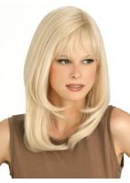 Blonde Capless Straight Human Hair Wig