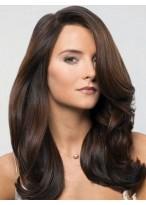 Long Wavy Human Hair Lace Front Wig