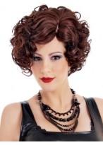 Nice Christina Side Swept Synthetic Wig