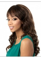 Dazzling Synthetic Capless Wig