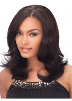 Flattering Lace Front Human Hair Wig