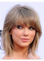Taylor Swift Glamorous Capless Human Hair Wig