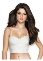 Selena Gomez Wonderful Lace Front Remy Human Hair Wig